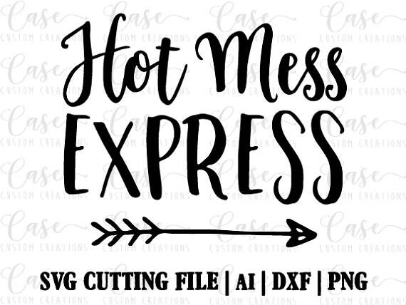 Download Jesus Loves This Hot Mess – Hand Drawn Lettered Cut File Design