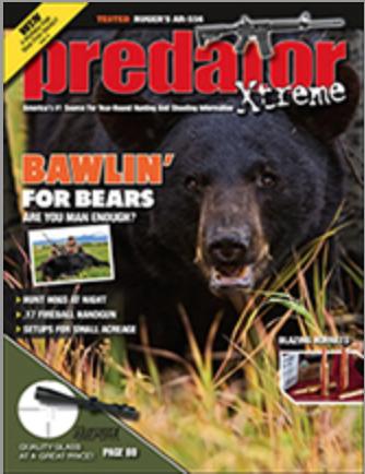 FREE One-Year Subscription to Predator Xtreme Magazine
