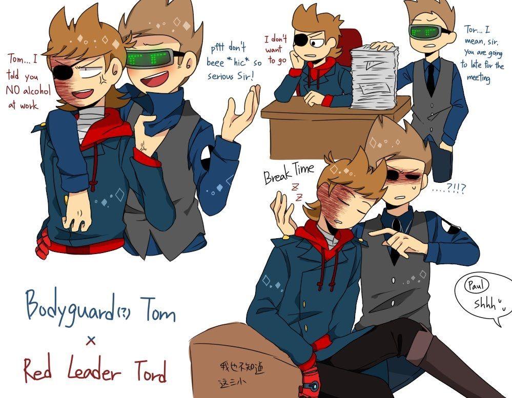Tom Comics Fanfic X Eddsworld Tord