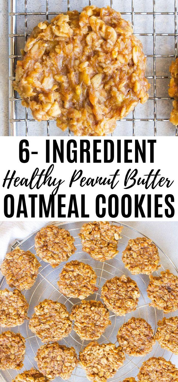 Healthy Peanut Butter Oatmeal Cookies - Kathryn's Kitchen -   16 peanut butter desserts Healthy ideas