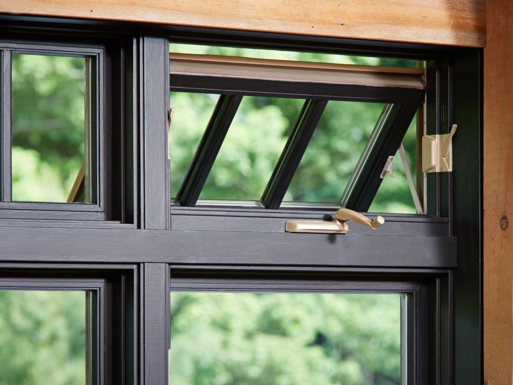An Awning Window Is Hinged At The Top And Opens Outward From The Frame Place Them Above Or Below Other Windows To Add Vis Windows Porch Remodel Awning Windows