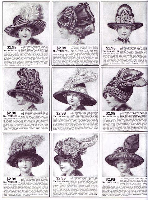 hats 1800s -1910s I LOVE HATS. it s not fair. why doesn t anyone wear these  things anymore ! 8f40eda34e0