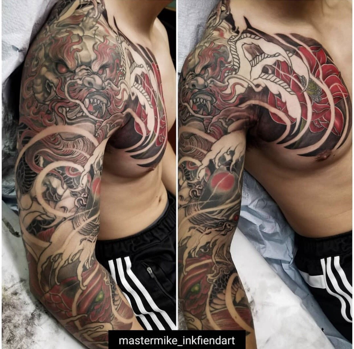 Click to Close Sleeve tattoos, Dragon sleeve tattoos