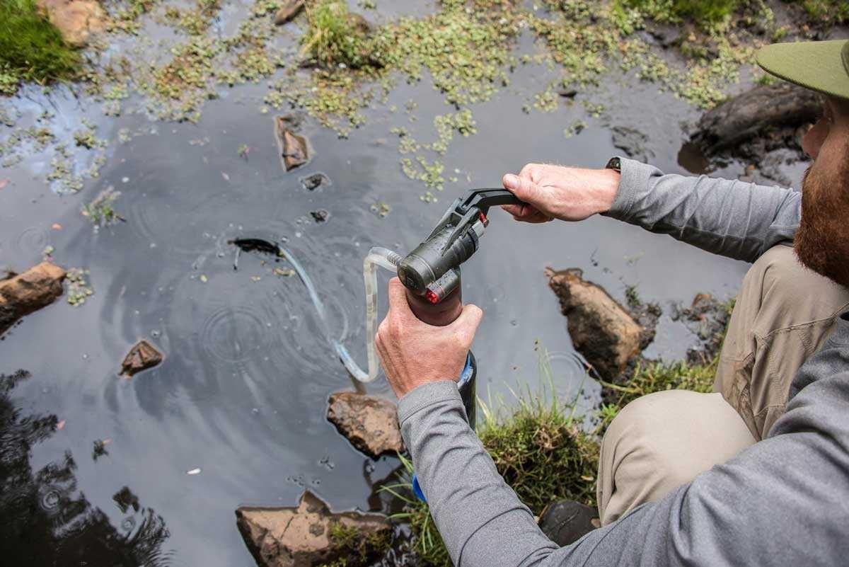 O purificador portátil de água MSR Guardian é simplesmente a maneira mais…
