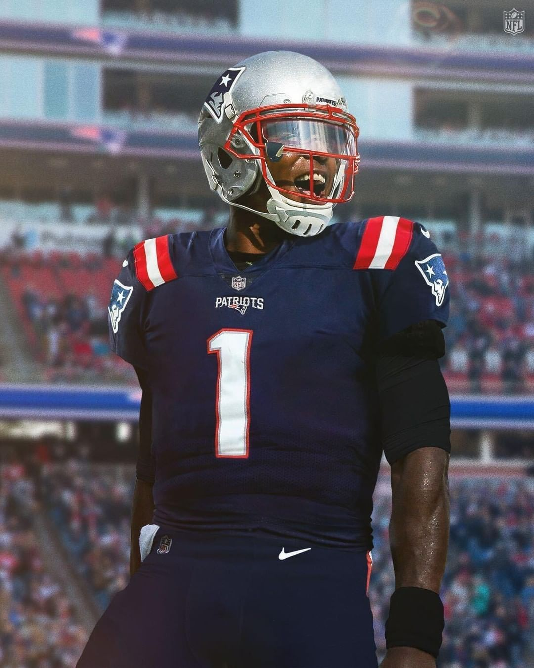 Nfl On Instagram Cameron1newton In 2020 Nfl Patriots Nfl New England Patriots Wallpaper