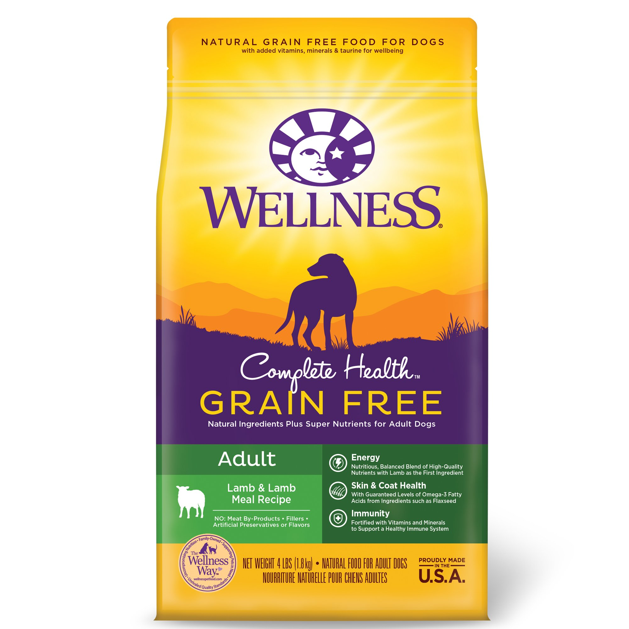 Wellness Complete Health Grain Free Adult Lamb Lamb Meal Recipe