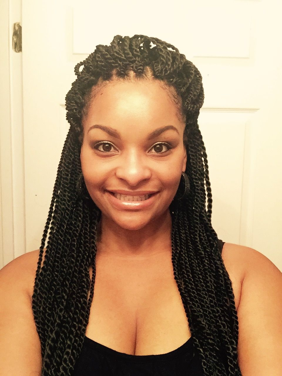 Micro Senegalese Twist Crochet Google Search Braid Styles