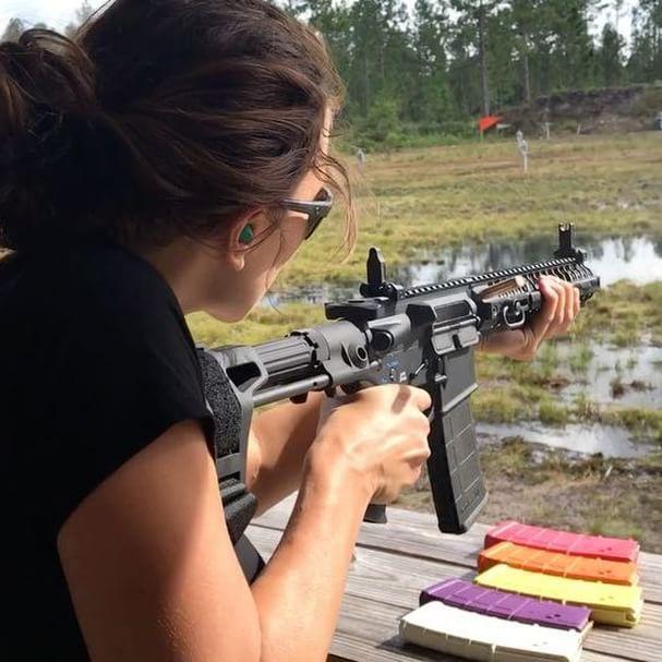 Going Full Libturd On Snowflake Spikes Tactical Big3east Girl Guns Guns Tactical