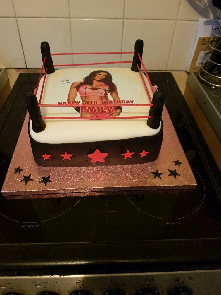 Wwe Nikki Bella Cakes Pinterest Cake Wwe Cake And Nikki Bella
