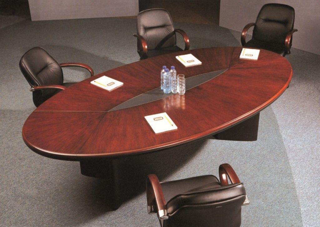 Jesse Oval Conference Table Meja