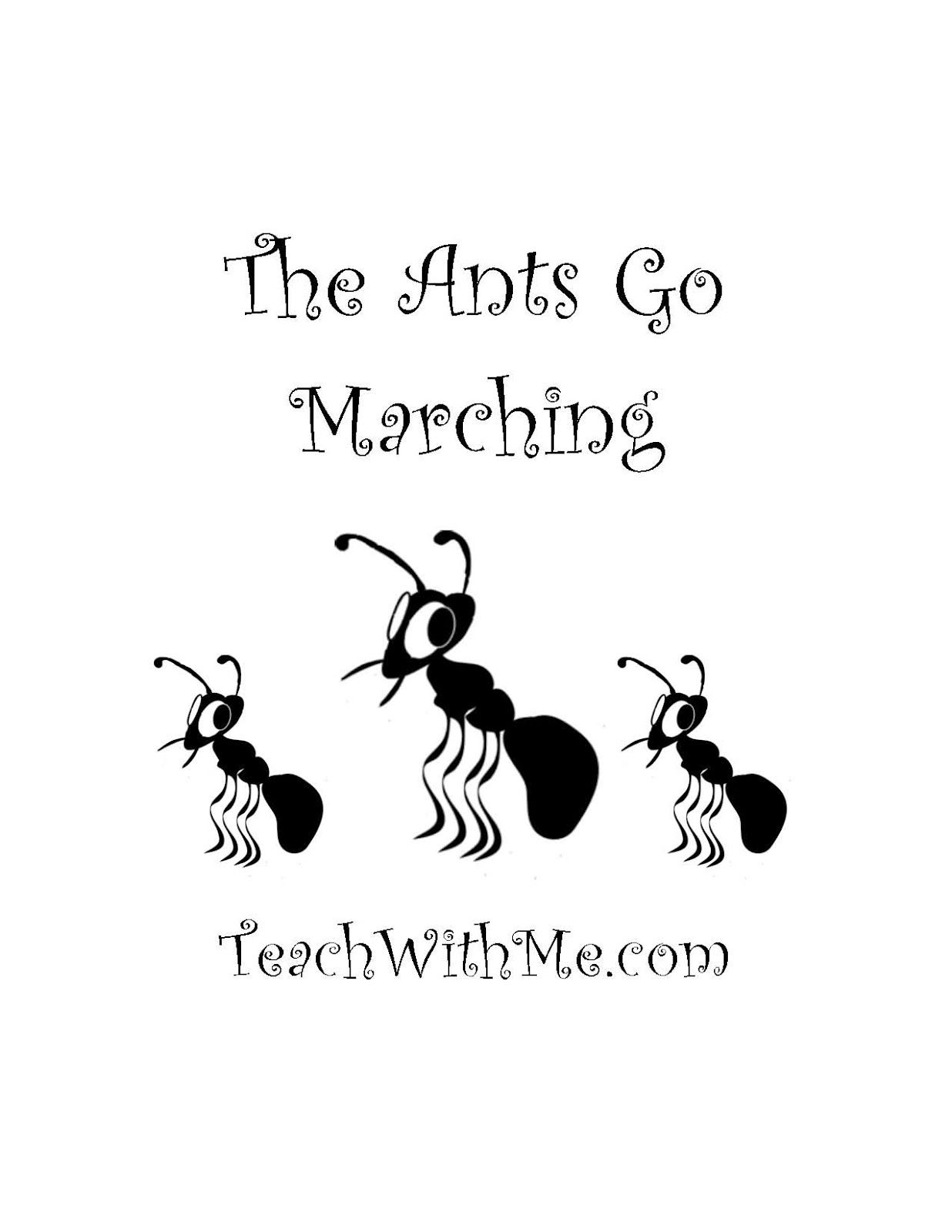 The Ants Go Marching Story Cards