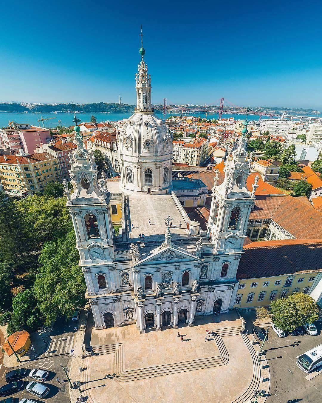 Basílica da Estrela- Lisboa - Portugal #visitportugal