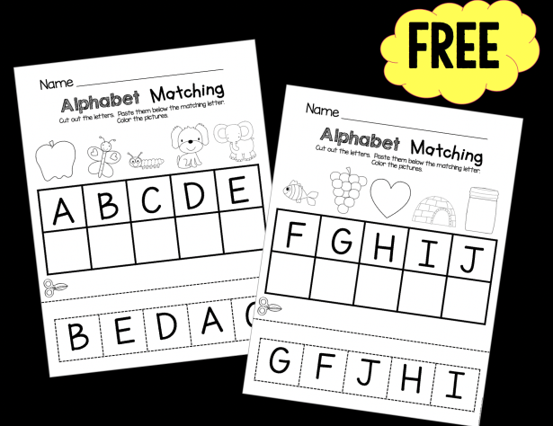 Pin On FREE Kindergarten Printable Worksheets