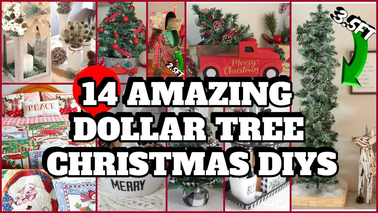 Dollar Tree Christmas Diys That Will Leave You Shocked 2020 Youtube In 2020 Dollar Tree Christmas Christmas Diy Christmas Projects Diy