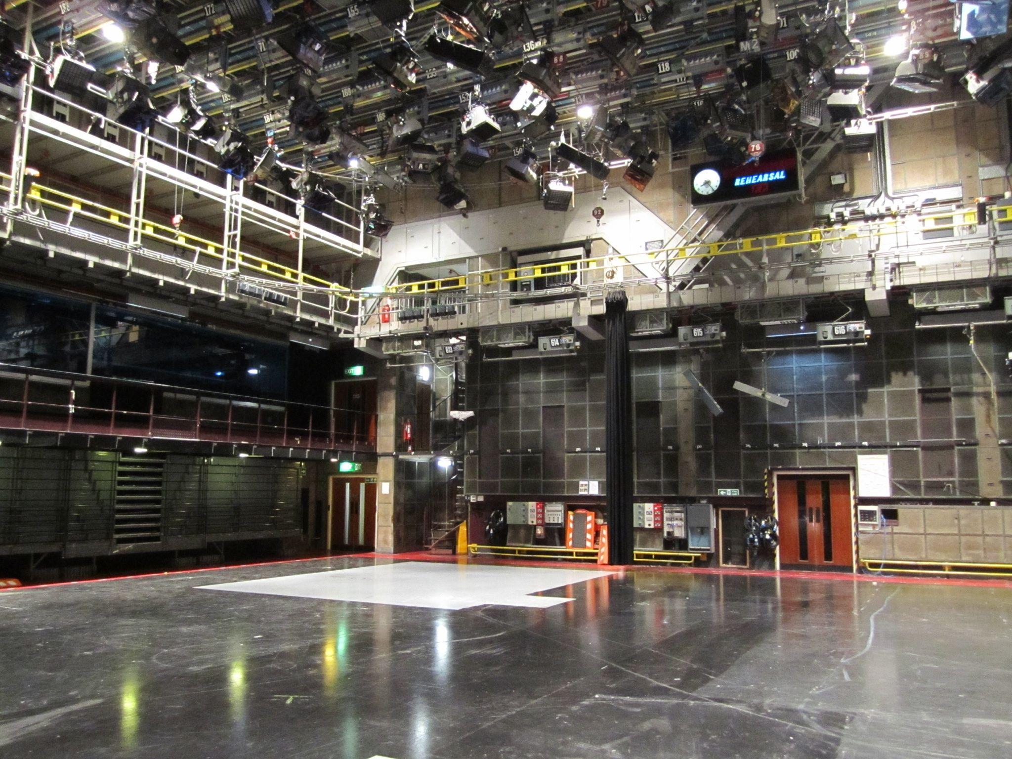 Tc8 Studio At Bbc Television Centre New Television British Comedy Studio