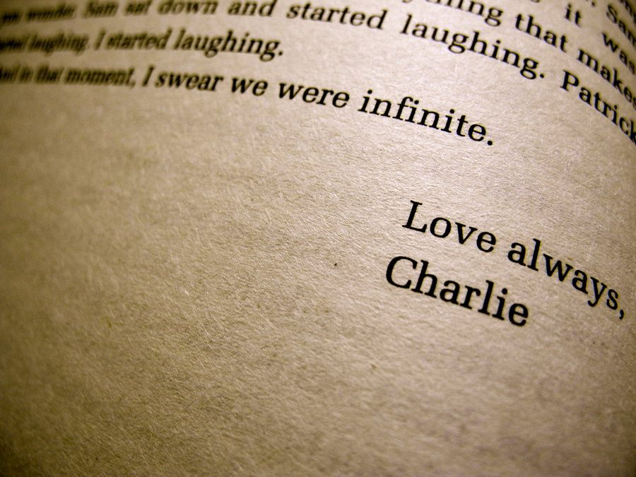 Favorite Part Of My Favorite Book The Perks Of Being A Wallflower