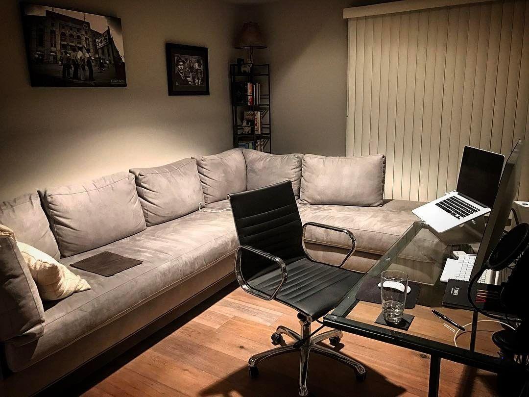 "Matt Cook on Instagram ""My office is finally setup! Also"
