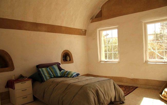 Chambre dans un Eco-dôme ©calearthorg Chambres à coucher Pinterest