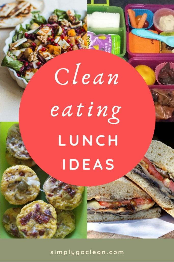 Clean Eating Lunch Ideas at work, school & home images