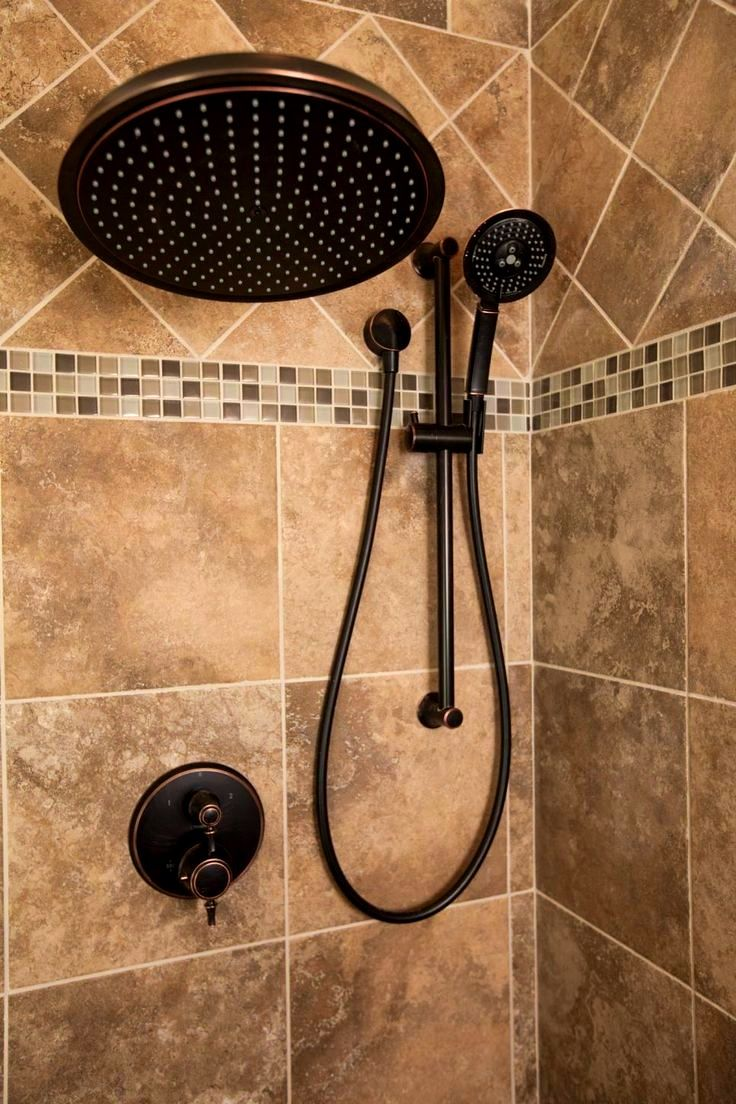 Bathroom captivating ideas about brown tile bathrooms for Brown tile bathroom ideas