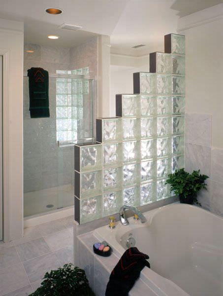 Resultado De Imagen Para Ladrillos De Vidrio Diseño De Baños Diseño De Interiores De Baño Ladrillos De Vidrio