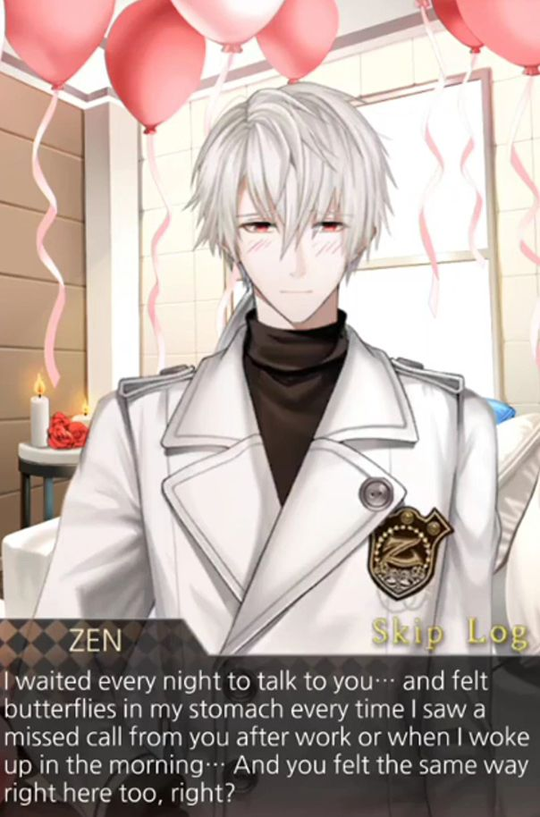 Mystic Messenger Valentine S Day Dlc With Zen Hyun Ryu Mc