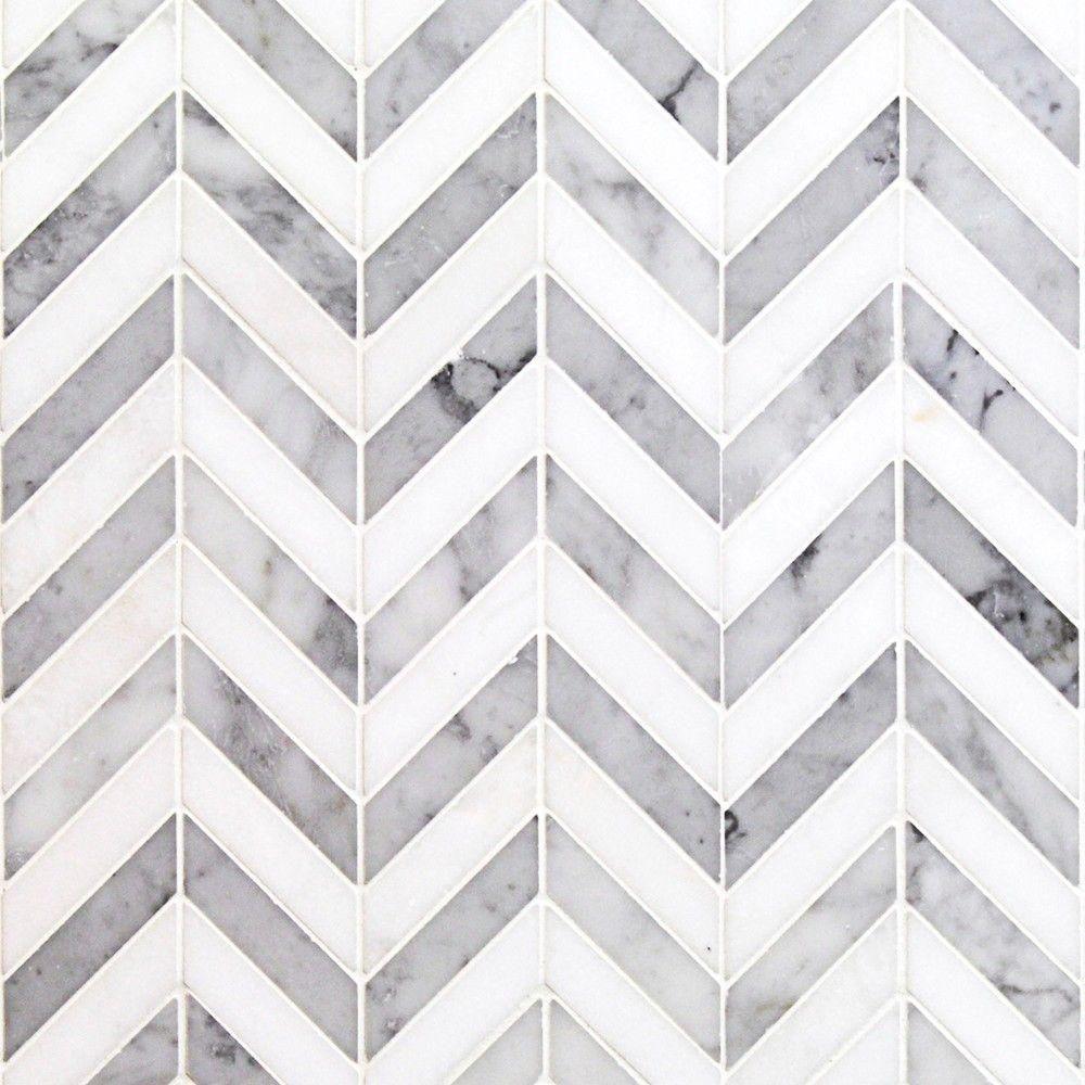 chevron tile marble mosaic tiles