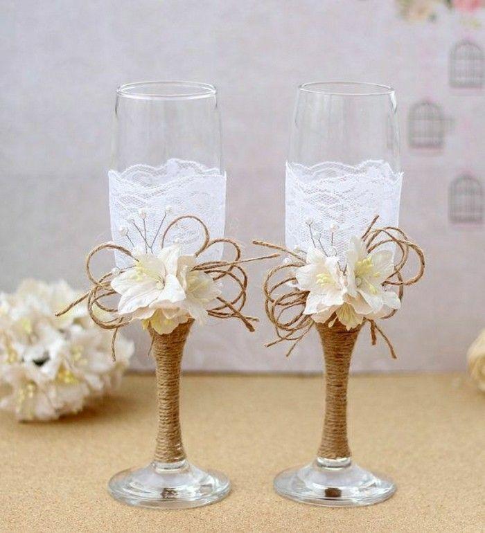 La meilleure soirée spéciale avec un beau verre à champagne