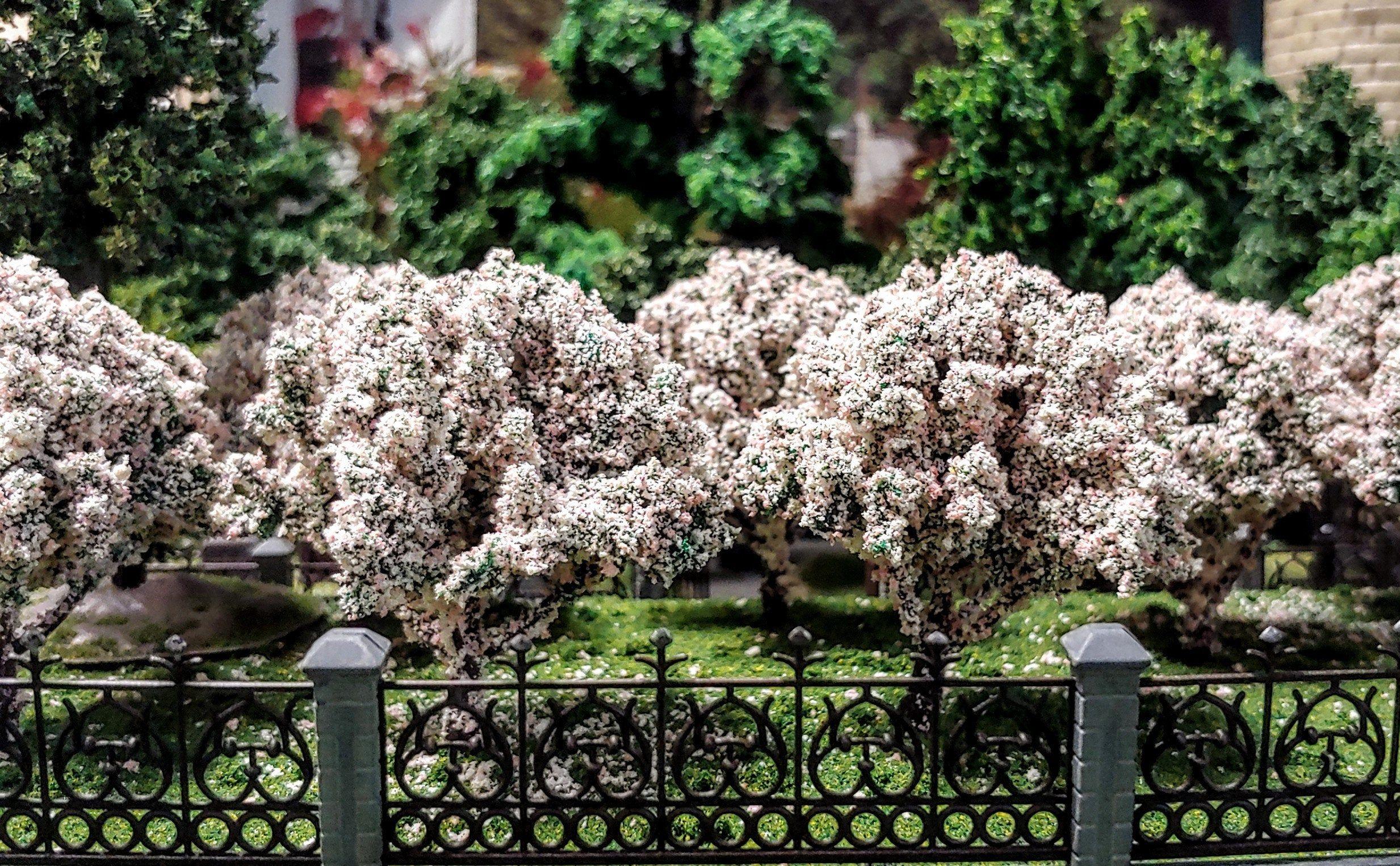 Miniature Model 2 1 2 Tall Sakura Cherry Blossom Trees Etsy Blossom Trees Cherry Blossom Tree Fairy Garden