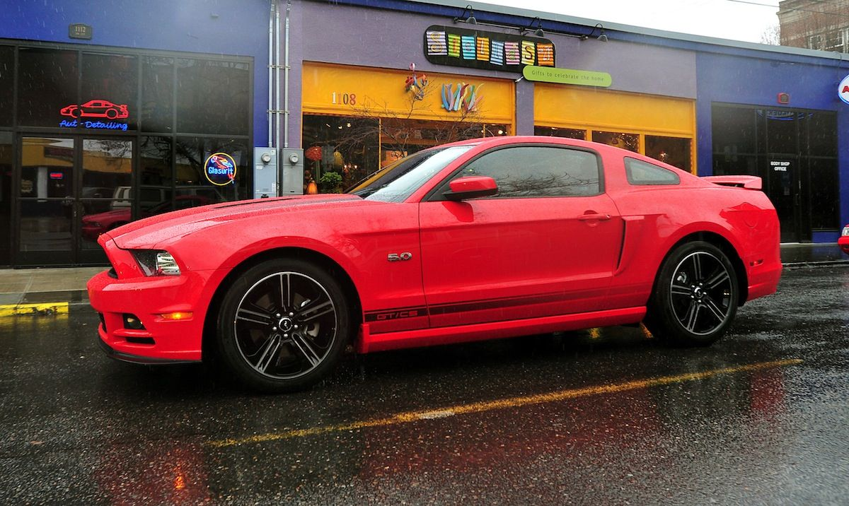Race Red 2013 Mustang Gt California Special Coupe 2013 Mustang