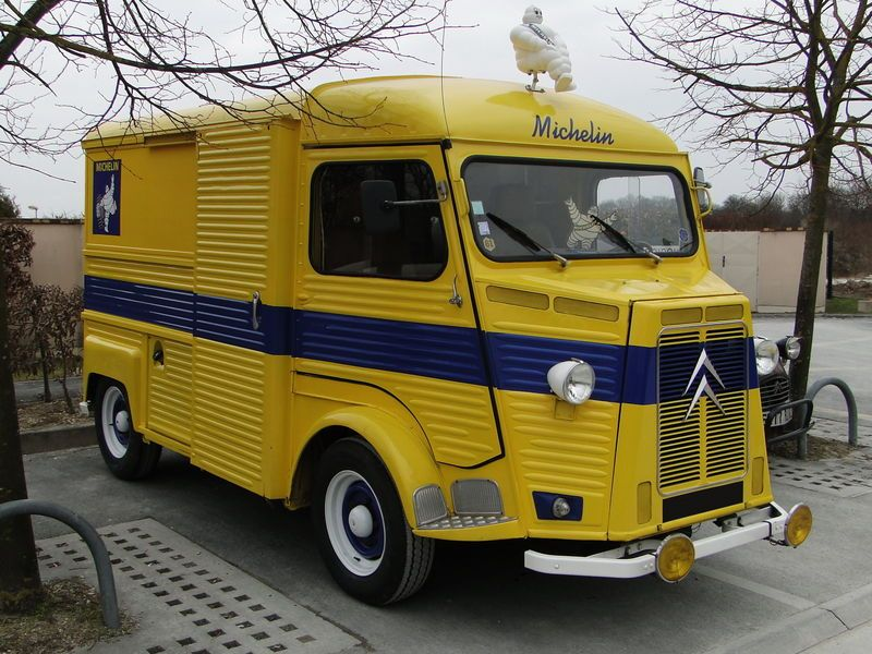 citroen type h michelin because citro n pinterest vans cars and vehicle. Black Bedroom Furniture Sets. Home Design Ideas