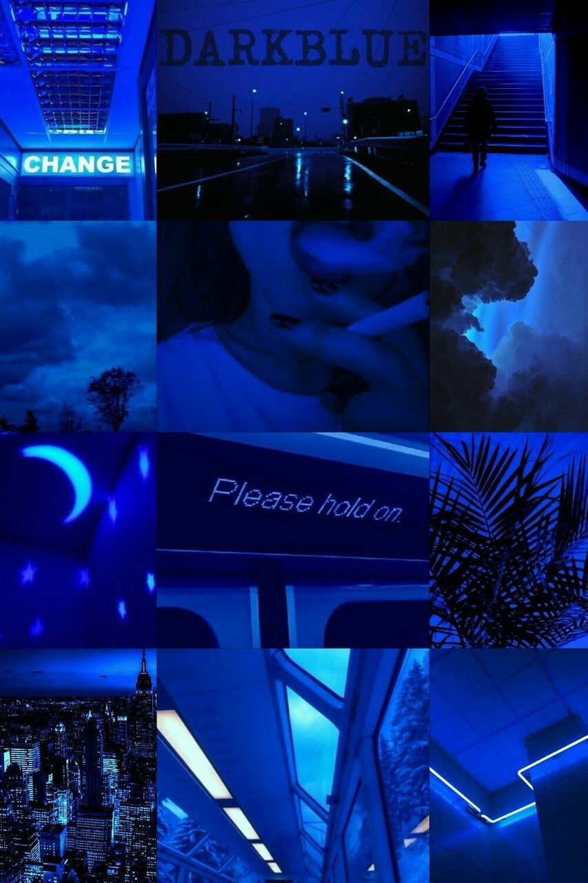 Pin By Teriana Braswell On Moodboards Blue Aesthetic Blue Aesthetic Dark Aesthetic Colors
