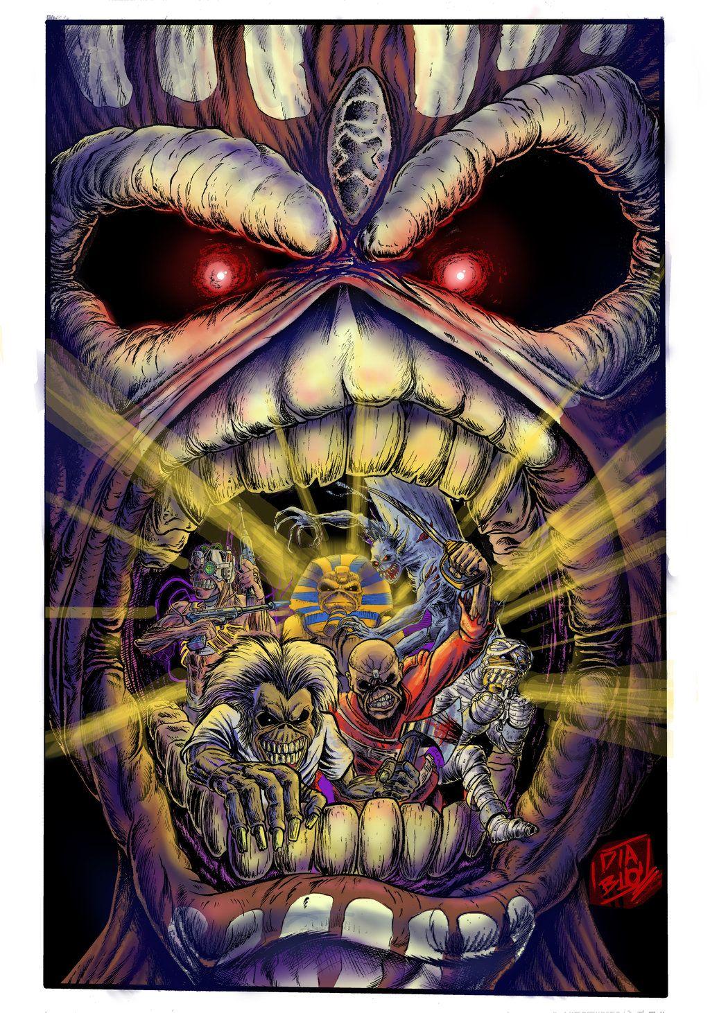 Book Of Souls By Eldiablochingon Deviantart Com On Deviantart Iron Maiden Eddie Iron Maiden Posters Iron Maiden Albums