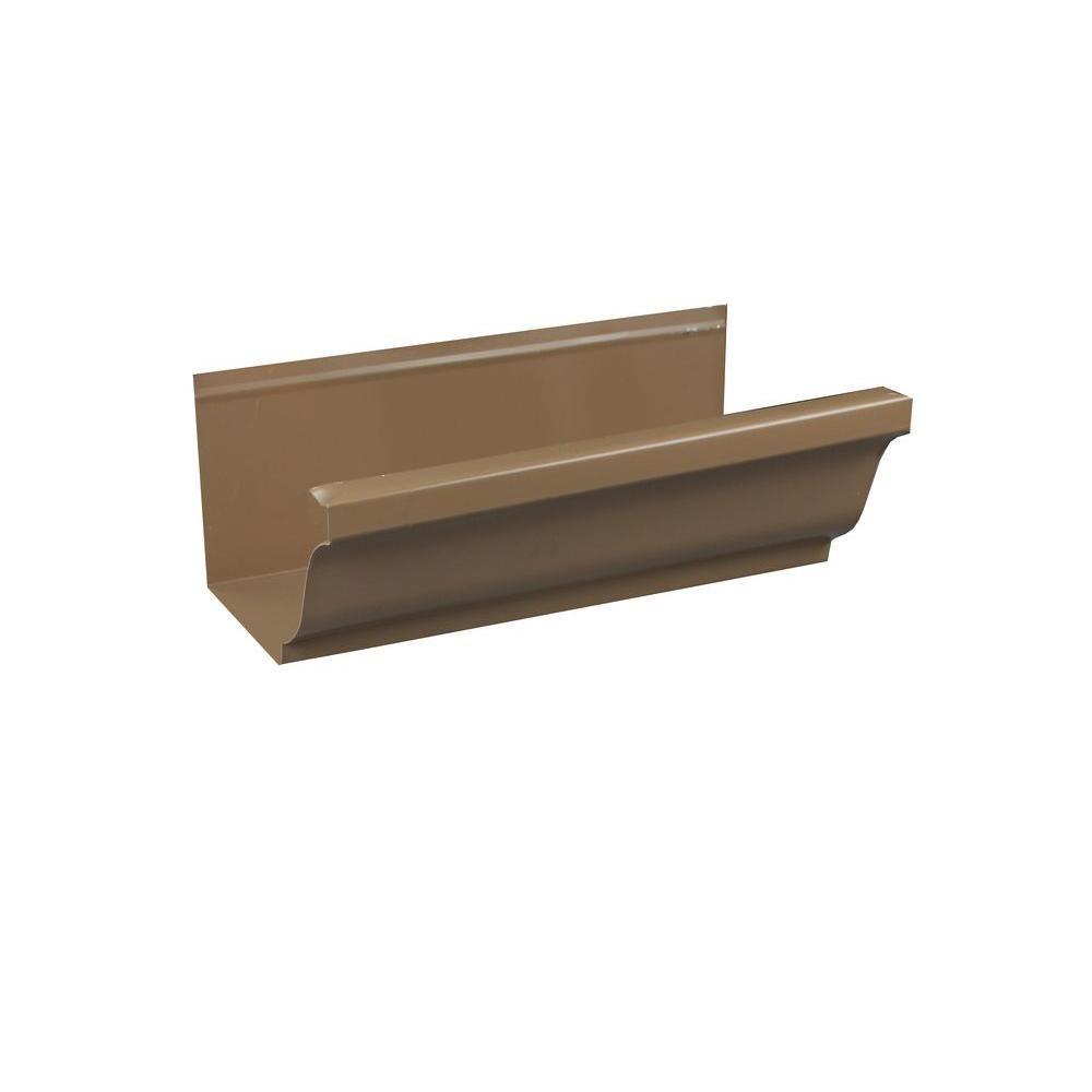 Best Spectra Metals 5 In X 8 Ft K Style Cocoa Brown Aluminum 640 x 480