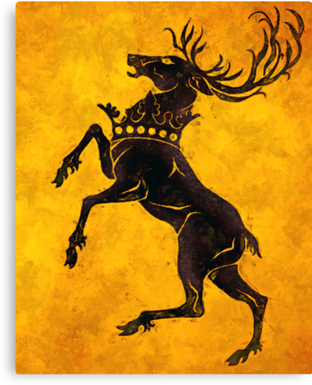 baratheon stag Google Search Coat of arms, Family