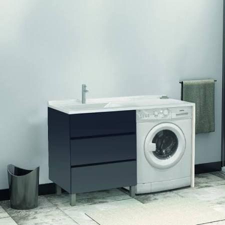 lavabo au dessus du0027un lave linge - Recherche Google salle de bain - Meuble De Salle De Bain Sans Vasque