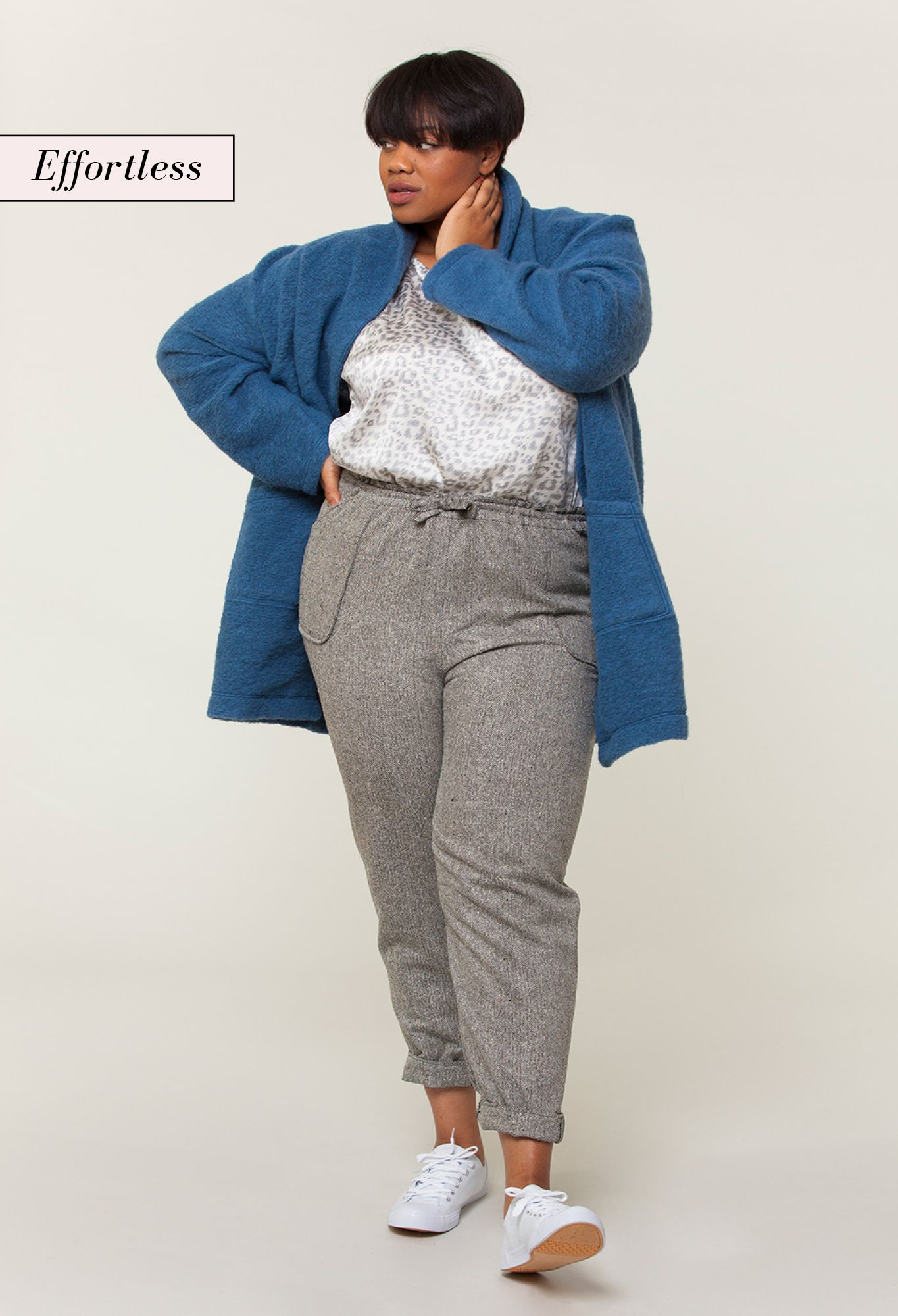Outfit inspiration from Seamwork Style - Sew this relaxed and cozy ...