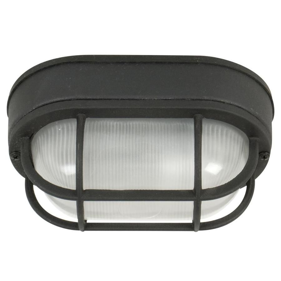 Craftmade Bulkheads 5 In W Textured Matte Black Outdoor Flush Mount Light Z396 Tb In 2020 Wall Sconce Lighting Outdoor Ceiling Lights Ceiling Fixtures