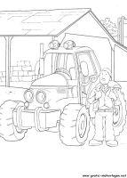 ausmalbilder traktor mit ladewagen | ausmalbilder traktor
