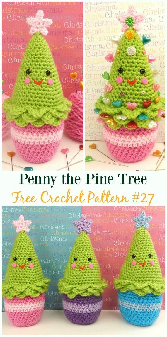 Penny the Pine Tree Amigurumi Crochet Free Pattern - #Crochet ...
