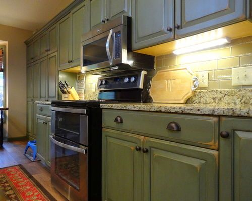 Best Images For Olive Green Kitchen Cabinet Doors #Olive