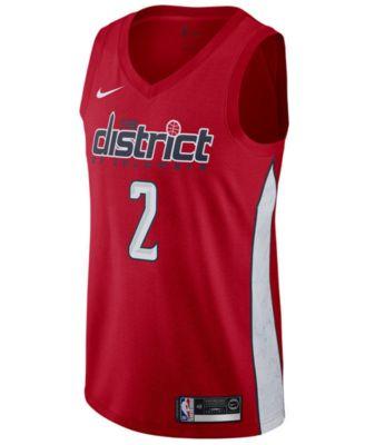 huge selection of 39d88 377ce Nike John Wall Washington Wizards Earned Edition Swingman Jersey, Big Boys  (8-20) - Red XL