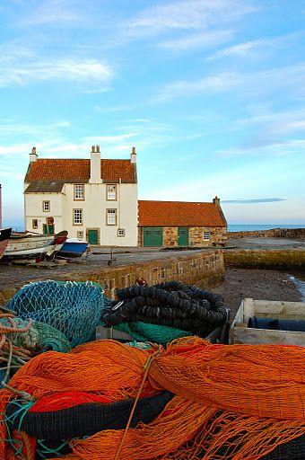Pittenweem, Kingdom of Fife. Scotland.  Taken by Lorna Gillies