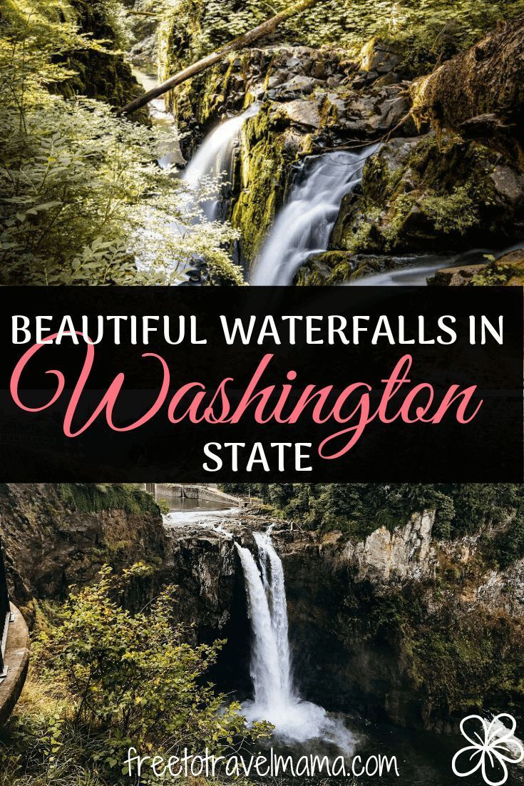 Beautiful Waterfalls in Washington State