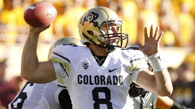 Colorado Buffs Nick Hirschman Football Helmets Colorado Buff