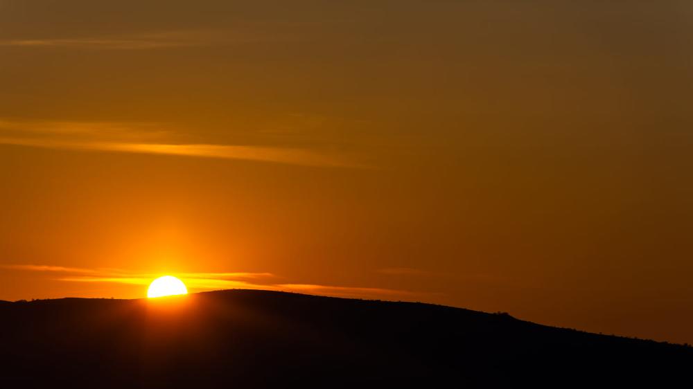 The Rising Sun By Milen Mladenov 500px Sunrise Sun Landscape