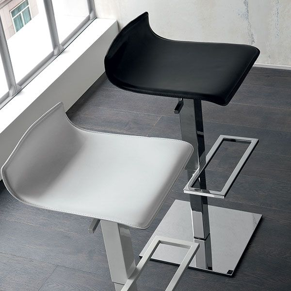 Low Profile Black Dining Chair