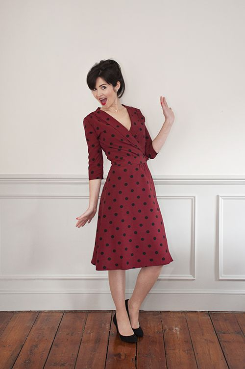 bb12bf29ea0d Sew Over It s brand new 1940 s Wrap Dress pattern  https   sewoverit.