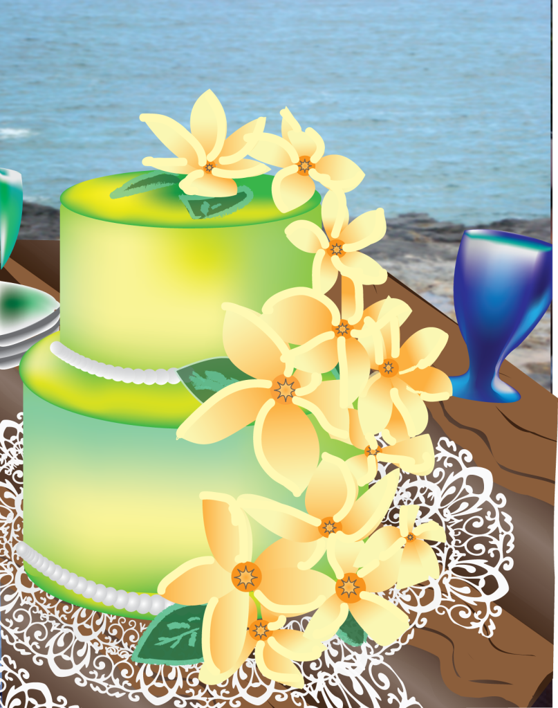 hawaiian wedding cake - Wedding Decor Ideas