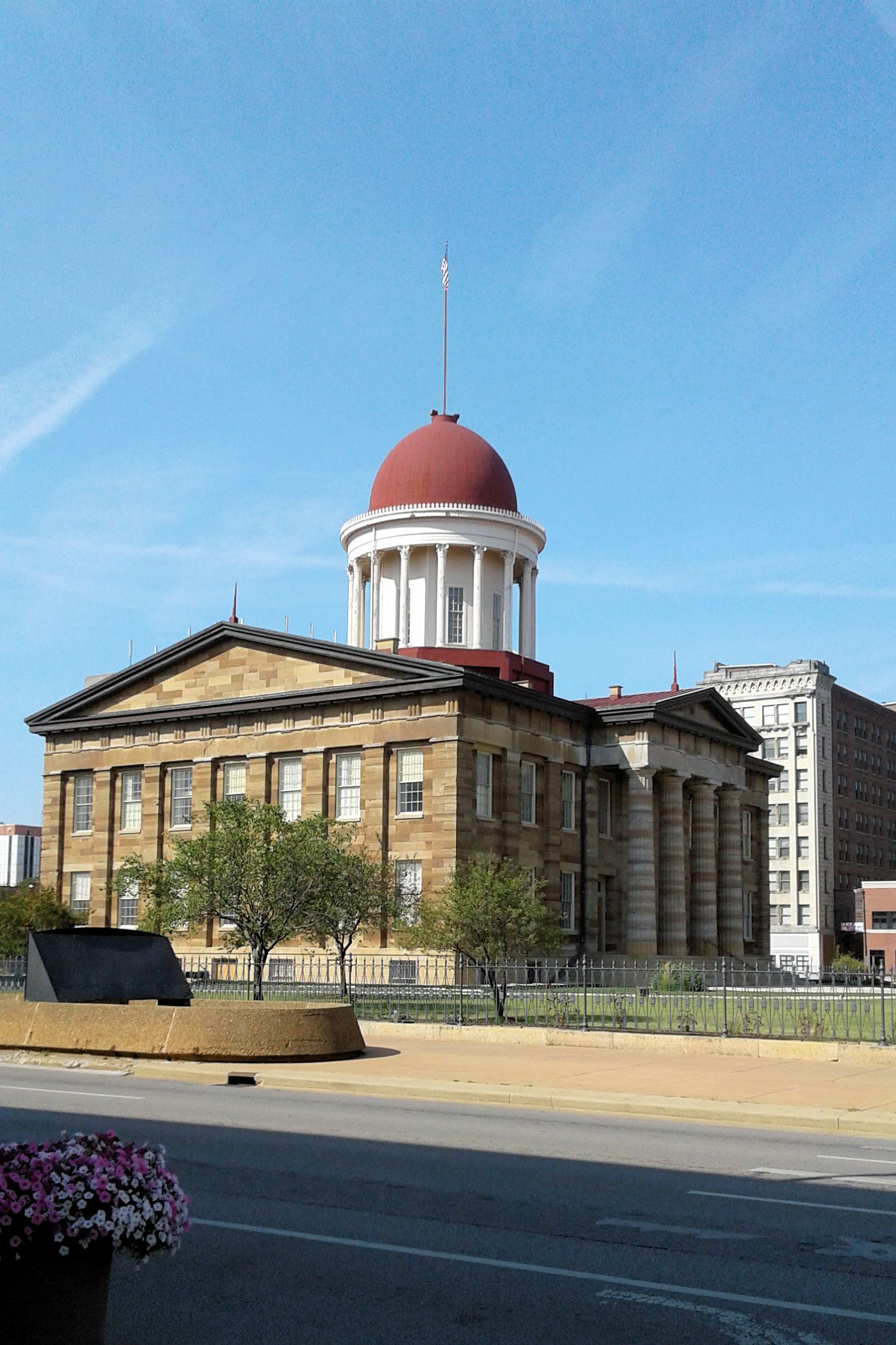 Old Capital building Springfield Illinois